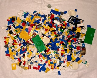 How to present Lego for purchase by Brick Lady